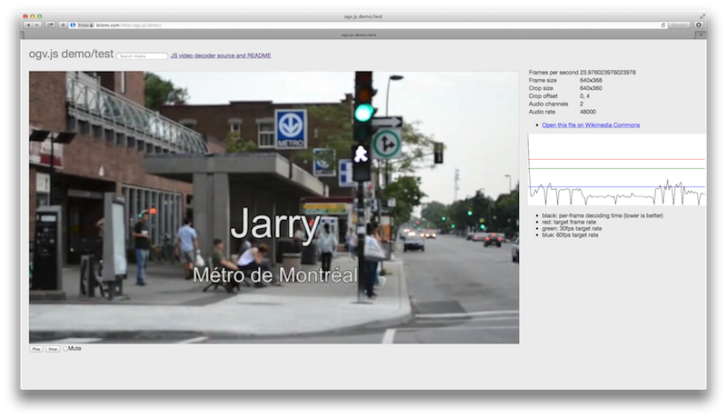 Jarry metro video screenshot